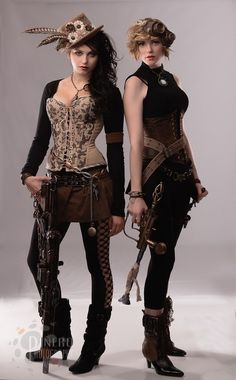 Steampunk Fashion & Gadgets. There is something I find very intriguing about steampunk.