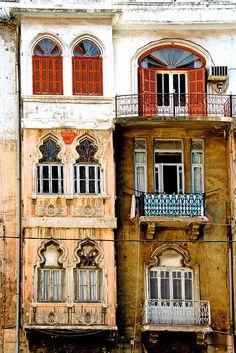 Ventanas de Beirut by Buñuelesco, via Flickr
