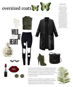 """""""Untitled #47"""" by mirela-osmanovic on Polyvore featuring WithChic, Sans Souci, Versace, MAC Cosmetics, Lancaster, Pier 1 Imports, NOVICA and Le Specs"""