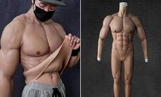 Online Shopping Websites, Bodysuit, Statue, Costumes, Suits, People, Men, Wall, Parts Of The Body