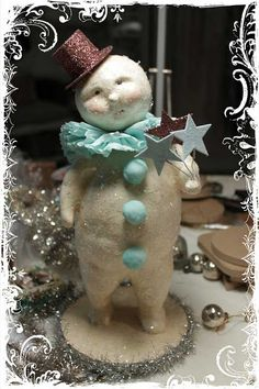 my fav Bethany Lowe! cute..love snowmen!