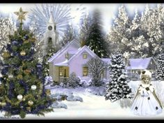 Animation, Christmas Time, Decoupage, Holiday Decor, Youtube, Outdoor, Xmas, Pictures, Outdoors