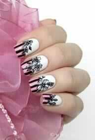 Floral Sillouette Design