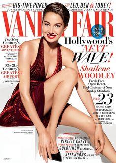 Vanity Fair July 2014 featuring Shailene Woodley