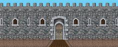 Medieval Castle Background. @Ann Trujillo, what do you think about this?