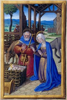 The Morgan Library & Museum Online Exhibitions - Hours of Henry VIII - Nativity