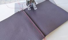 eHow | How to sew leather