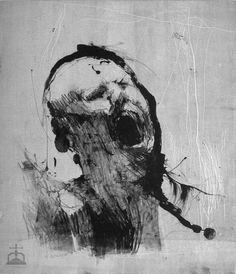 Arte Horror, Horror Art, Life Drawing, Figure Drawing, Dibujos Dark, Art Noir, Le Cri, Creepy Monster, Happy Paintings