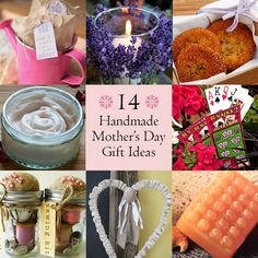 14 Handmade Mother's Day gift ideas that your mom will love! #gift