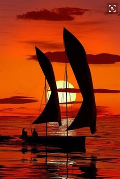 Catch of the Day A fishing boat returns to harbour at sunset. Taken in Stone Town, Zanzibar Amazing Sunsets, Beautiful Sunset, Beautiful World, Amazing Places, Stone Town, Foto Poster, Sail Away, Belle Photo, Silhouettes