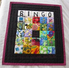 Here's my BINGO Card! It's a quilt!