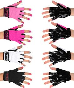 Mighty Grip Pole Dancing Gloves with Tack Strips for Gripping the Pole (1 pair) Mighty Grip