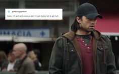 I know this is Bucky but I feel like it's also me