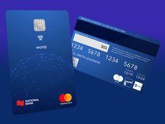 Vertical Credit Card Credit Card Design Debit Card Design Business Credit Cards