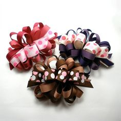 Girls Hair Bows Girls Hairbow Teen Hair Bow by TiffanyJDesign, $3.00