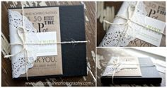 Allison Marie Photography packaging by claire