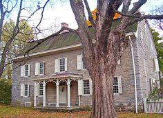 Cornelius Wynkoop Stone House along US 209 in Stone Ridge NY, USA