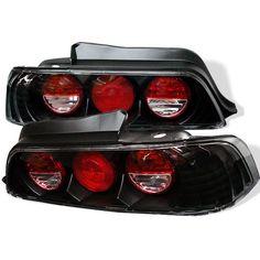 ( Spyder ) Honda Prelude 97-01 Euro Style Tail Lights - Black