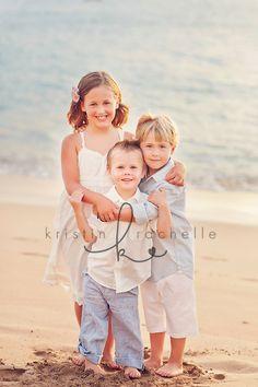 Beach Siblings ... photo by Kristin Rachelle Photography