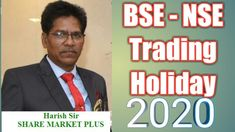 BSE NSE TRADING HOLIDAY 2020