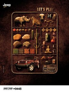 Jeep - Let´s play.   See more about unique categories on www.piafawards.com