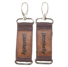 jeankelly pram clips – brown Leather Baby Bag, Feeding Pillow, Writing Thank You Cards, Dummy Clips, My Bags, Beautiful Bags, Personalized Items, Brown, Tacos