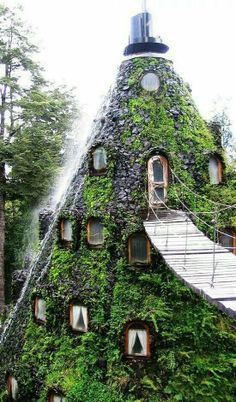 Magic mountain hotel, Chile