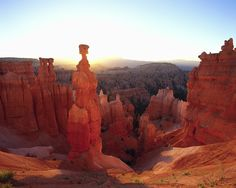 The towering hoodoos of Bryce Canyon are remarkable. | been there can't wait to take Jeff!