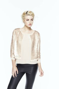 paper crown: chester sequin jacket {a favorite of mine}