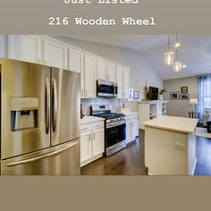 Under Contract! Wooden Wheel, Kitchen Cabinets, Real Estate, Home Decor, Kitchen Cupboards, Homemade Home Decor, Real Estates, Decoration Home, Kitchen Shelves