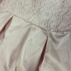 dress, silk, lace