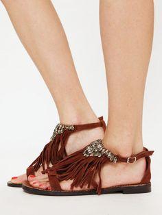Matisse Shira Sandal - Cognac