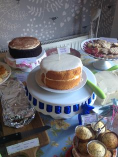 McMillan coffee morning - orange cake