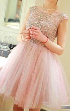 Tulle Homecoming Dress,Short Mini Dresses