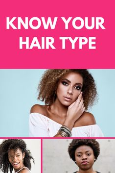 Learn your hair type and get a starting point for understanding what your natural texture needs. 4a Hair Type, Hair Type Chart, Type 4c Hairstyles, Curled Hairstyles, 3a Hair, Curly Hair Types, Curl Pattern, Natural Texture, Hair Looks