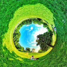 #360GradMünchen: #Monopteros @ #EnglischerGarten #monopteroswiese #egarten #englishgarden #enjoymunich #relax #wiese #munichsbest #summer #360grad #munich #rabbithole #360photo #münchen #pano360 #lovemunich #monopterus #360photography #360panorama #360art #munich360 #panorama #littleplanet #nature #park #365muenchen #tinyplanet #lifeis360 @muenchen