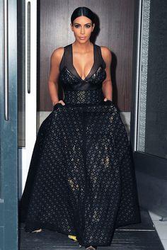 Kim Kardashian steps out at Time 100 Gala in New York City on April 21, 2015.   - Cosmopolitan.com
