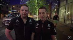 Mercedes AMG Petronas F1 - United States Grand Prix Quiz With F1 Mechanics (VIDEO)