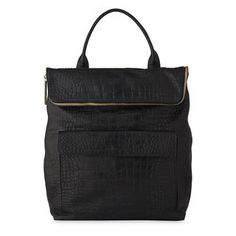 Croc Verity Backpack, in Black on Whistles