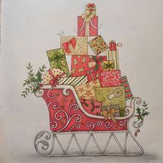 #johannaschristmas #johannabasford #adultcoloringbook