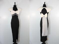Vintage 1980s Elegant Dress Mother of the Bride by EightiesLadies, $89.00