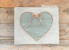 Valentines Day decor, Heart wood sign, Heart sign, Cottage decor, Rustic home decor, Nursery wall art, Nursery decor, Distressed wood sign,