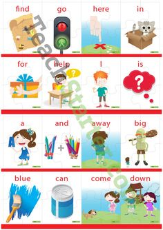 Dolch Sight Word Puzzle with Pictures – Pre-Primer (4 puzzle pieces) Teaching Resource