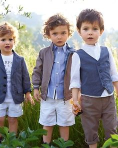 Three littles gentlemen