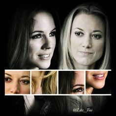 """""""#ZoiePalmer #Lauren #AnnaSilk #Bo #Doccubus #LostGirlforever #Doccubusendgame """" Lost Girl Bo, Bo And Lauren, Anna Silk, Girls Series, Lotr, Tv Shows, Entertainment, Couple, Celebrities"""
