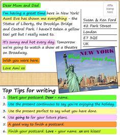 A postcard from New York | LearnEnglishTeens