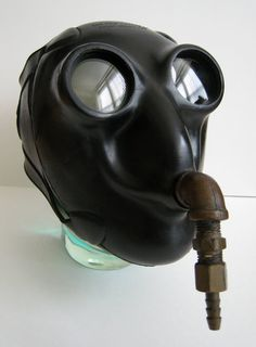 Spectacular Scarce Vintage Insect Bug Eye Diving Mask by Fivehands, $995.00