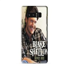 BLAKE SHELTON AMERICAN COUNTRY SINGER Samsung Galaxy Note 8 3D Case Caseperson