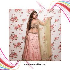"""""""A piece of clothing should be like a work of Art.""""  Rent this beautiful baby pink mirror work  designer lehenga for your next event at www.rentanattire.com or visit our store located in Warje, Pune. Contact us on 7722009477 for appointment.  #rentanattire #sustainablefashion #bridesmaids #rentalfashion #rentalrevolution #makeinindia #fashiononrent #whybuywhenyoucanrent #friendship #weddingcollection #trend #designerlehenga #onlinestore #outfitoftheday #livelovelaugh #dmfororder #bliss…"""