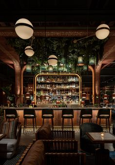 Pub Interior, Bar Interior Design, Lobby Interior, Restaurant Interior Design, House Bar Design, Vintage Restaurant Design, Pub Design, Deco Restaurant, Restaurant Concept